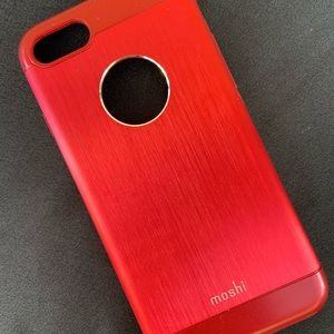 IPhone Red Hard Shell Phone Case